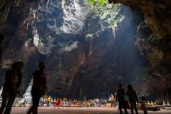 Khao luang cave Stock Images