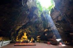 Khao Luang Cave. In Phetchaburi,Thailand stock images