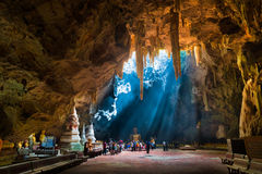 Khao Luang cave Stock Image