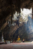 Khao Luang Cave in Phetchaburi,Thailand Royalty Free Stock Image