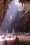 Khao Luang grotta Arkivfoto