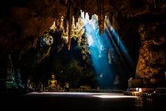 Khao Luang grotta Arkivbild
