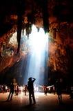 Khao Luang洞Phetchaburi,泰国 免版税库存图片