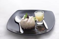 Khao manGai recept Thailändsk gatamatstil Arkivbilder