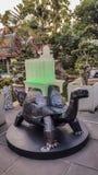 Khao MES es un pequeño modelo de la montaña a construido con la piedra fotos de archivo