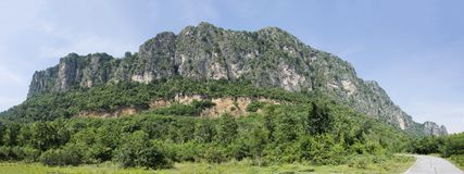 Khao Nang Phanthurat Forest Park in National Parks and Marine Reserves. Khao Nang Phanthurat or Khao Chao Lai Yai Forest Park in National Parks and Marine Stock Image
