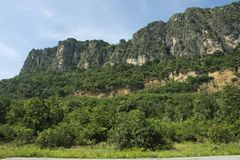 Khao Nang Phanthurat Forest Park i nationalparker och Marine Reserves Royaltyfri Foto
