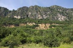Khao Nang Phanthurat Forest Park i nationalparker och Marine Reserves Arkivfoton