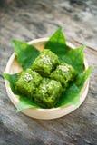 Khao neaw Kaew, Thai dessert Stock Images
