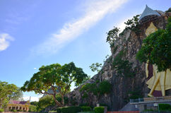 Khao Ngoo rock park Ratchaburi, Thailand Royalty Free Stock Photos