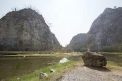 Khao Ngu Stone Park, Thailand Stock Image