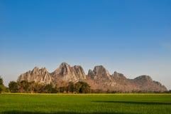 Khao Nor–Khao Kaeo Nakornsawan. Khao Nor–Khao Kaeo limestone mountain near Paholyothin road Nakornsawan stock photo