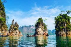 khao park narodowy sok Thailand Zdjęcia Stock