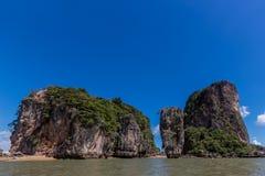 Khao Phing Kan James Bond Island Arkivfoto