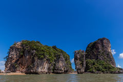 Khao Phing Kan James Bond Island Stock Photo