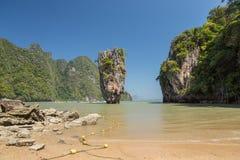 Khao Phing Kan Ko Phing Kan ö Royaltyfri Fotografi
