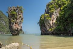 Khao Phing Kan Ko Phing Kan ö Royaltyfria Bilder