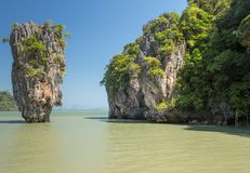 Khao Phing Kan Ko Phing Kan ö Arkivfoto