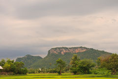 Khao Raeng mountain Royalty Free Stock Photos