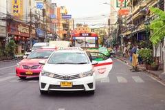 Khao san Rd en Bangkok imagen de archivo