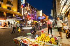 Khao San Road, Bangkok Royalty Free Stock Photography