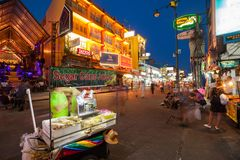 Khao San Road, Bangkok Royalty Free Stock Photo