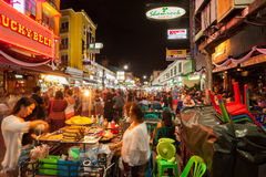 Khao San Road Royalty Free Stock Images