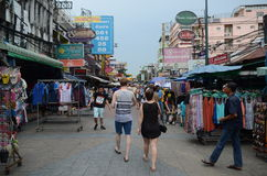 Khao San Road,Bangkok,Thailand Royalty Free Stock Images
