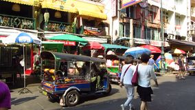 Khao San Road stock footage