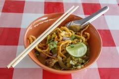 Khao Soi Foto de Stock Royalty Free