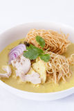 Khao soi , curry noodles , thai food Stock Image