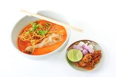 Khao-soi Huhn Lizenzfreies Stockbild