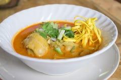 Khao SOI Kai Foto de Stock Royalty Free