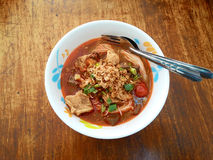 Khao Soi Nam Ngeaw Photo stock