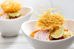 Khao Soi Stock Photo