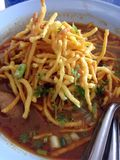Khao Soi,Northern Thai local food Royalty Free Stock Image