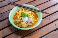 Khao Soi Recipe Thai food Royalty Free Stock Photography