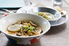 Khao soi or khao soy Stock Photos
