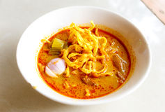Khao soi thai food Stock Image