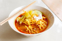 Khao soi thai food Stock Photos