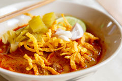 Khao soi thai food Stock Images