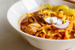 Khao soi thai food Royalty Free Stock Images