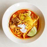 Khao soi thai food Royalty Free Stock Photo