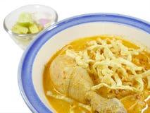 Khao soi. Thai food Stock Images