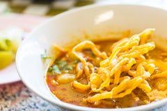 Khao Soi thai food style Royalty Free Stock Photo