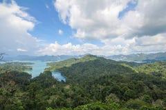 KHAO SOK国家公园, Suratthani泰国 免版税库存照片