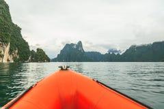 Khao sok nationaal park in thani van Surat zuidelijk van Thailand Royalty-vrije Stock Afbeelding