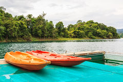 Khao sok nationaal park in thani van Surat zuidelijk van Thailand Royalty-vrije Stock Fotografie