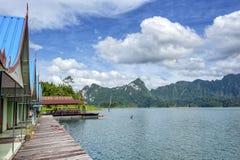 Khao Sok National Park Rafts Stockfotos