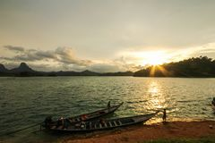 KHAO SOK National Park, Suratthani Tailandia Fotografie Stock Libere da Diritti